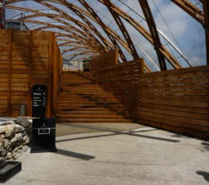 New Landscapes Wooden Architecture Waitomo