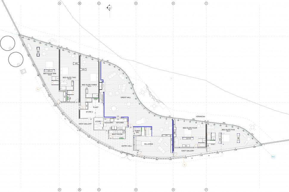 architecture workshop ground floor plan