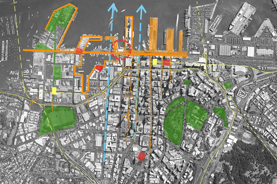 auckland waterfront plan public access