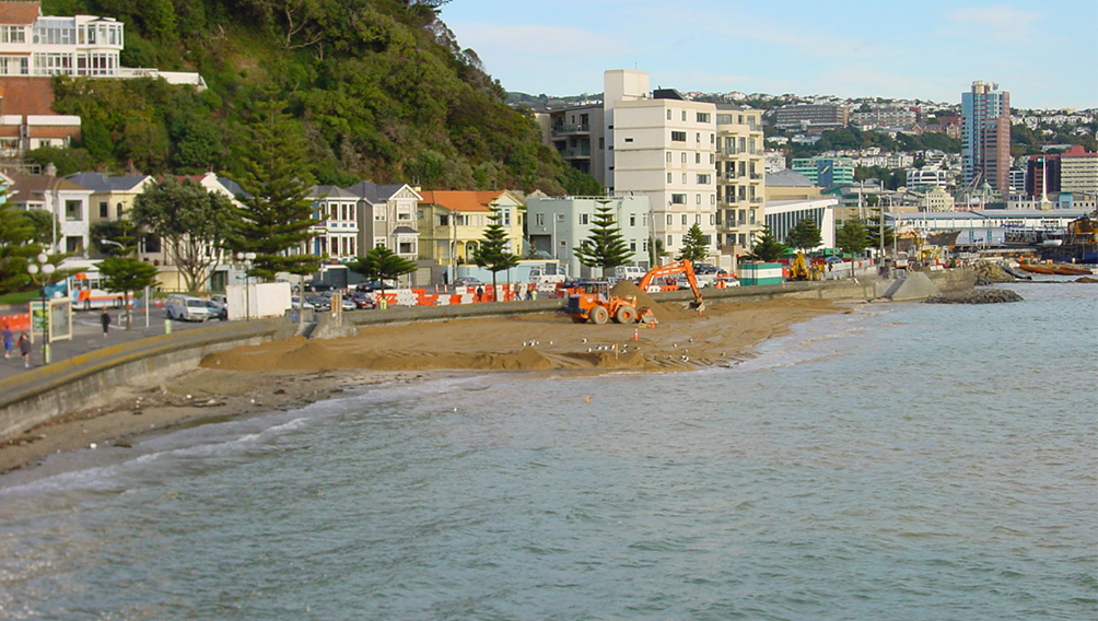 sand development oriental bay