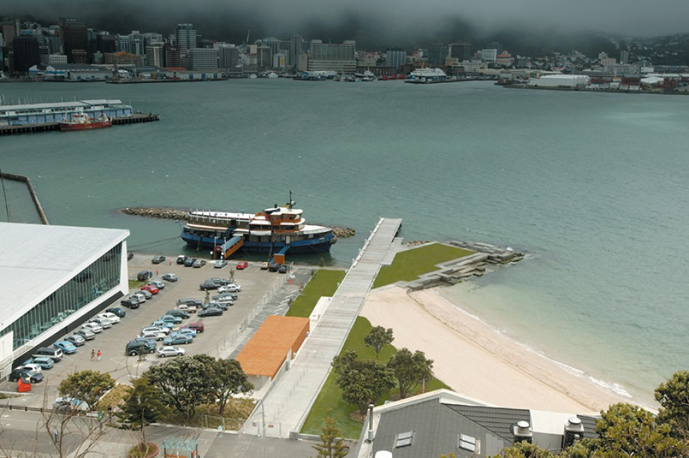 wellington waterfront enhancement