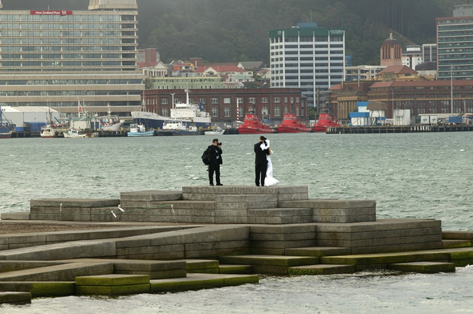 oriental bay north island nz