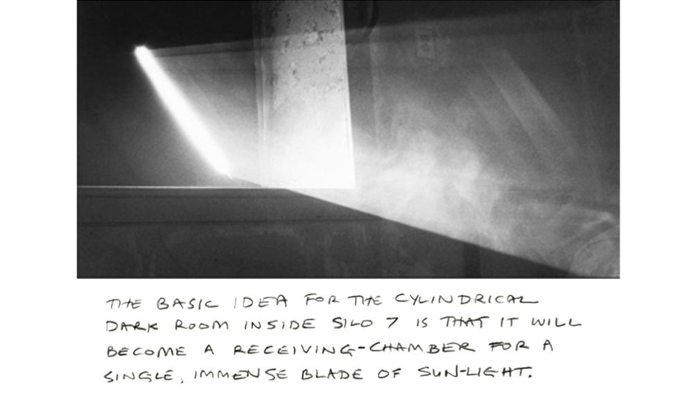 anthony mccall artist silo sunlight chamber