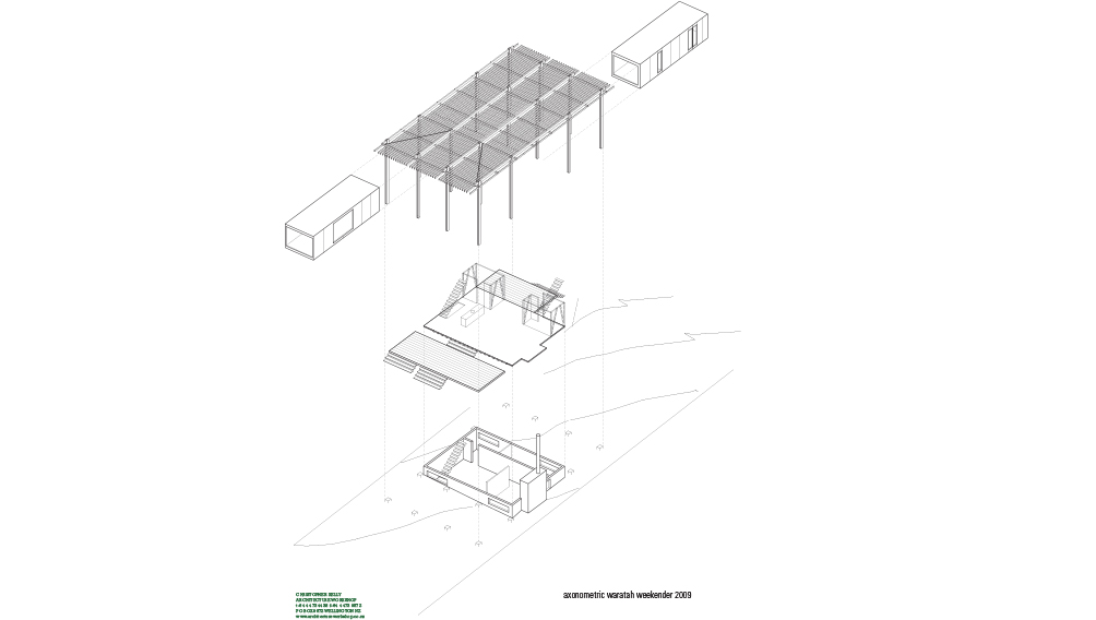 5 aw axonometric raised platform