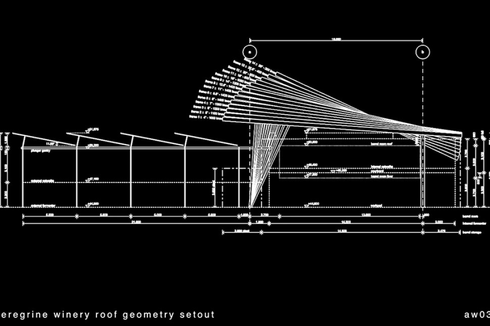 roof geometry technical drawing aw