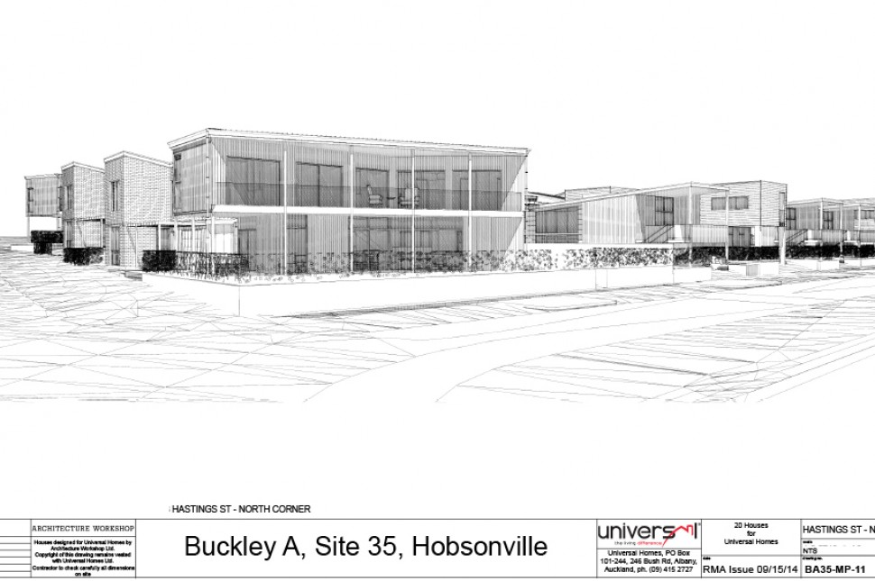buckley street view design concept