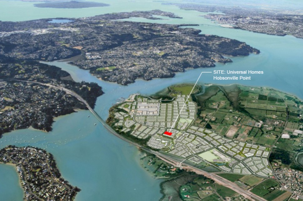 site hobsonville auckland housing development