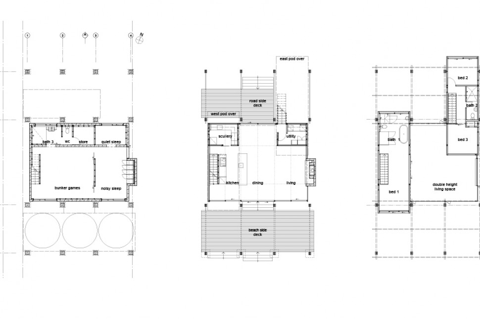 4 floor plan beach house victoria