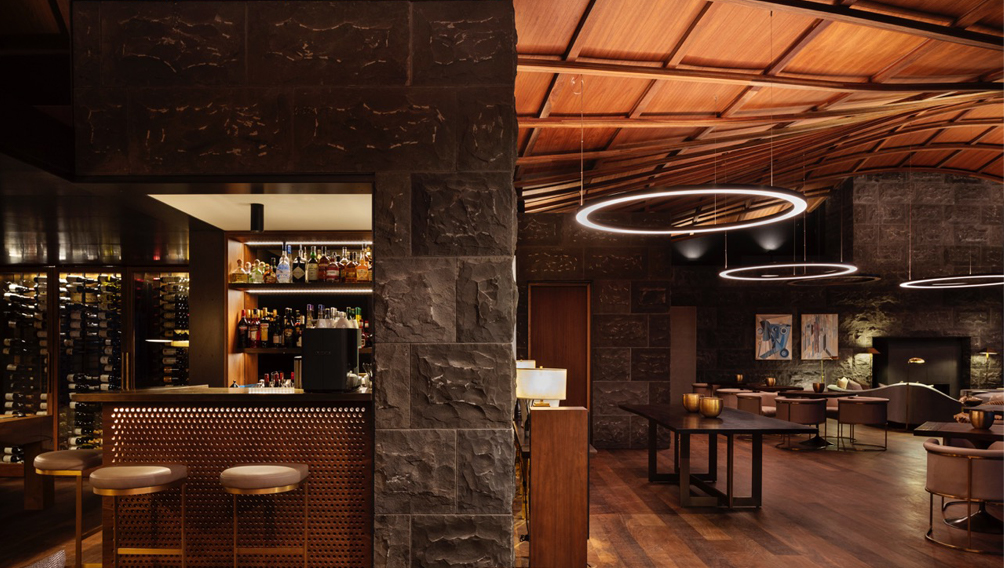 bluestone bar wine interior