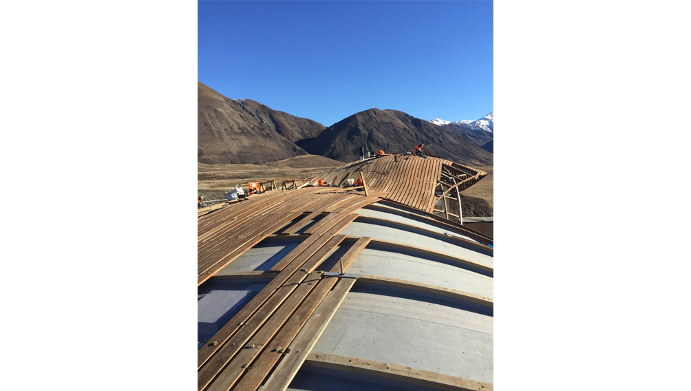 timber roof construction new zealand